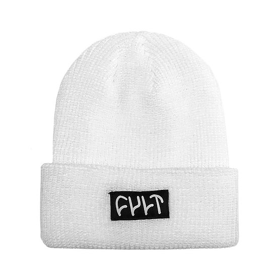 Bild 1 - Cult WITNESS Beanie white one size fits most