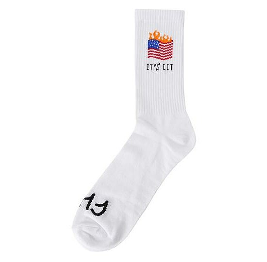 Bild 1 - Cult IT'S LIT Socken weiss one size fits most