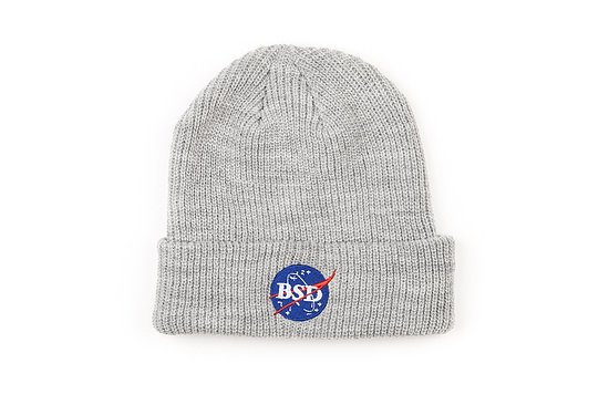 Bild 1 - BSD SPACE AGENCY Beanie grey adjustable in size