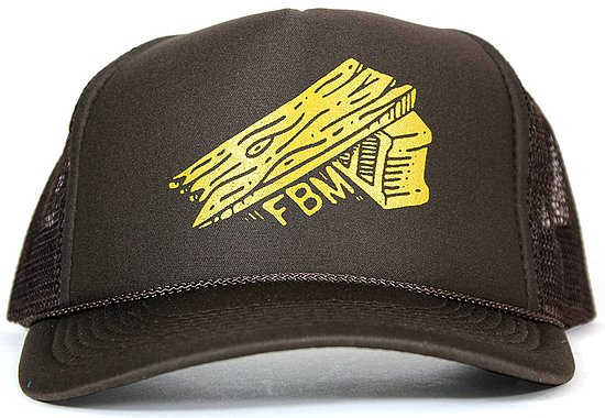 Bild 1 - FBM RAMP Mash Cap brown adjustable in size