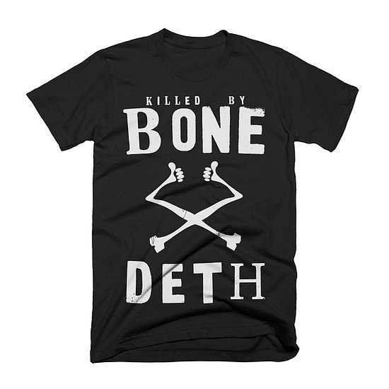 Bild 1 - Bone Deth KILLED BY BONE DETH T-Shirt schwarz XL