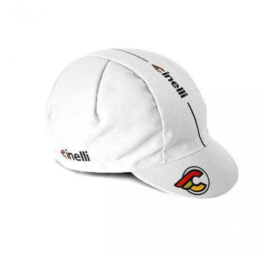 Bild 1 - Cinelli SUPERCORSA Cap white one size fits most