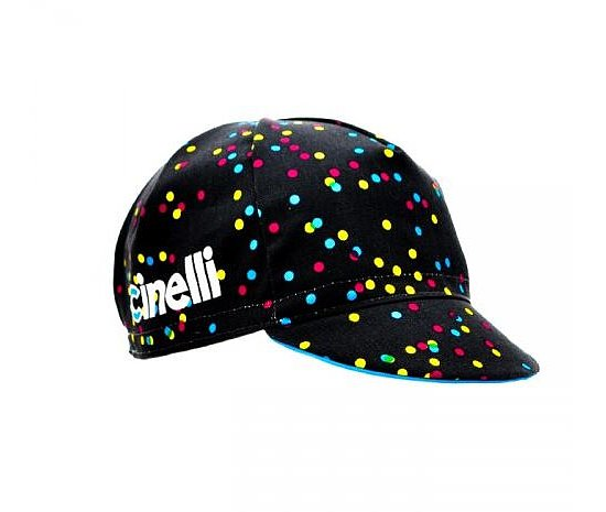 Bild 1 - Cinelli CALEIDO DOTS Mütze black one size fits most