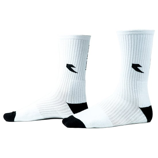 Bild 1 - tall order LOGO Socken white/black one size fits most US 8-13 / EU 40.5-47