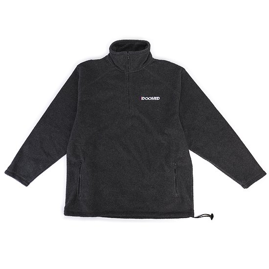 Bild 1 - Doomed THE END Half-Zip Micro Fleece Jacke