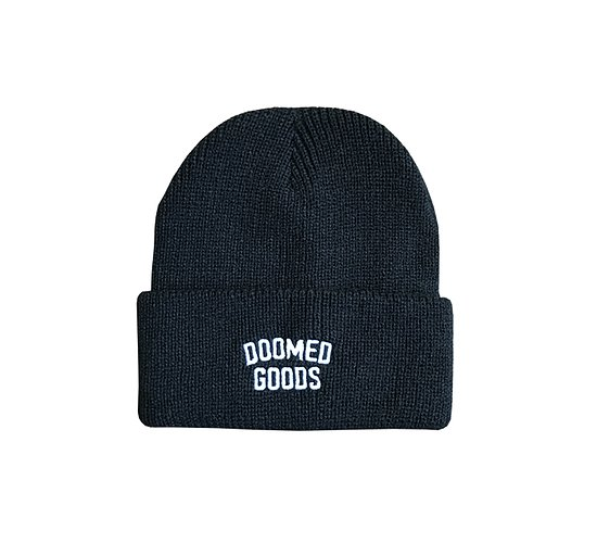 Bild 1 - Doomed GOODS Beanie black one size fits most