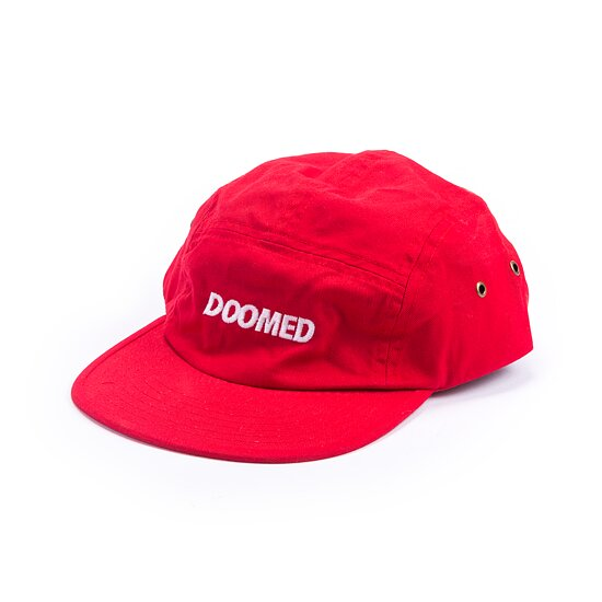 Bild 1 - Doomed REDWOOD 5 Panel Mütze red one size fits most