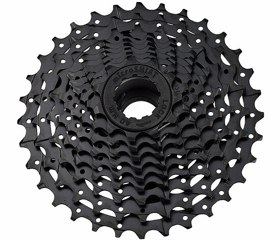 Bild 1 - microSHIFT R8 CS-H081 Cassette black 8-speed 12-28t