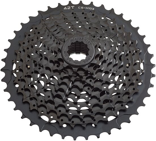Bild 1 - microSHIFT XLE CS-H103 Cassette ed black 11-40T 10-speed 11-40t