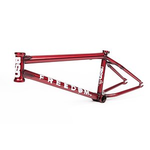 BSD 2019 FREEDOM Rahmen matt transparent rot 20.8'' Kriss Kyle Signature