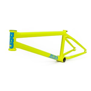 BSD 2019 ALVX AF Frame yellow 21'' Alex Donnachie Signature
