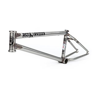 BSD 2019 RAIDER V3 Frame matt raw 21.6'' David Grant Signature
