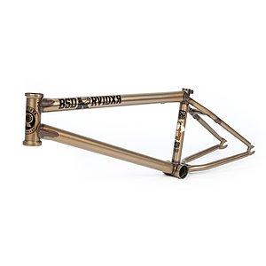 BSD 2019 RAIDER V3 Frame matt translucent gold 21.6'' David Grant Signature