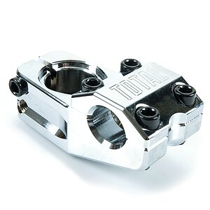 Total BMX TEAM V3 Stem chrome 50mm 22.2mm toploader 1 1/8''