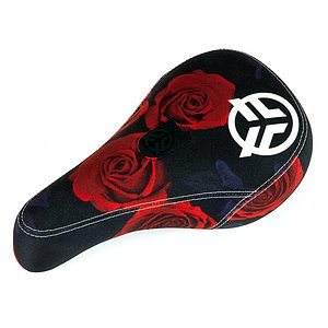 Federal LOGO ROSE Seat black/red pivotal mid padded