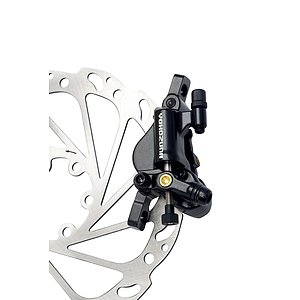 YOKOZUNA MOTOKO POST MOUNT Disc Brake black front 160mm