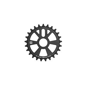 Kink BEDLAM Sprocket matt black 28t bolt drive