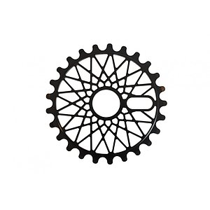 Federal BBS Sprocket black 25t bolt drive