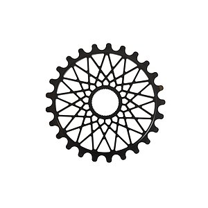 Federal BBS Sprocket black 25t spline drive