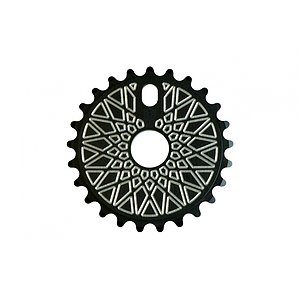 Federal BBS SOLID Sprocket black/silver 25t bolt drive
