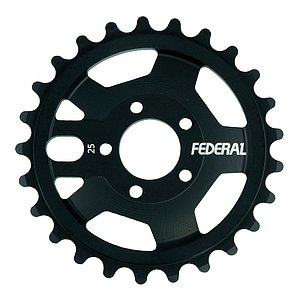 Federal AMG Sprocket black 25t bolt drive