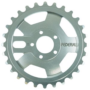 Federal AMG Sprocket silver 28t bolt drive