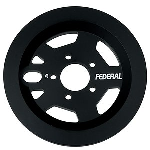 Federal AMG GUARD Sprocket black 25t bolt drive