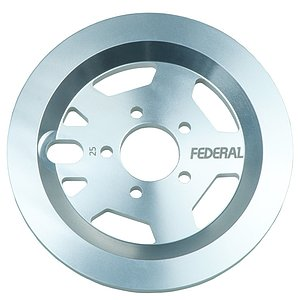 Federal AMG GUARD Sprocket silver 25t bolt drive