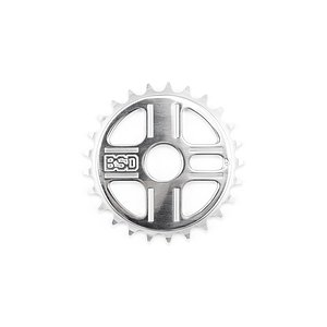 BSD TBT Sprocket polished 25t bolt drive
