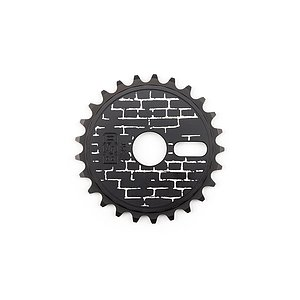 BSD WALLA Sprocket black 25t bolt drive