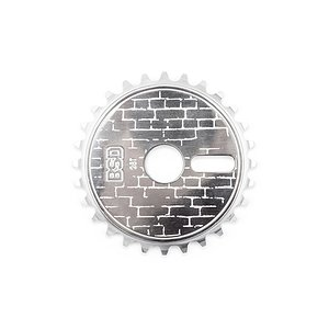 BSD WALLA Sprocket polished 28t bolt drive