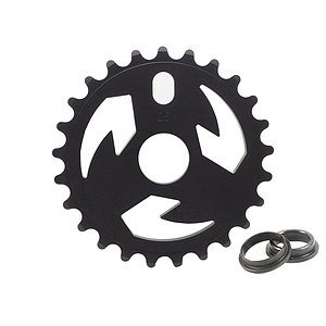 tall order LOGO Sprocket black 25t bolt drive