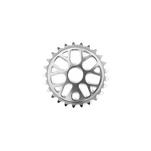 Mission NEXUS Sprocket silver 25t bolt drive