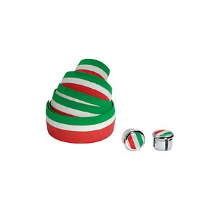 Cinelli FLAG RIBBON Lenkerband green/white/red Kork