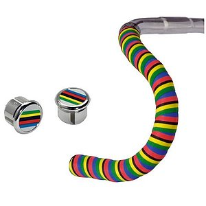 Cinelli CHAMPION RIBBON Lenkerband Regenbogen