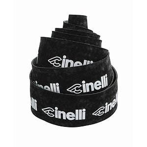 Cinelli LOGO VELVET Bar Tape black/white plastic