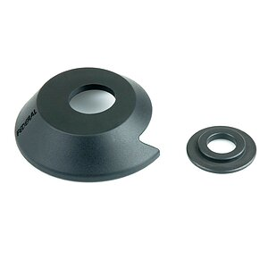 Federal PLASTIC Drive Side Hubguard black plastic 14mm with Universal Washer