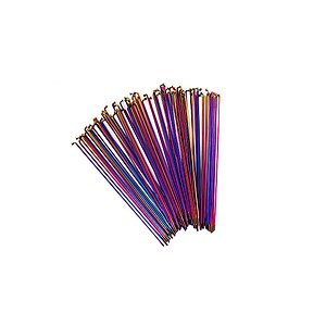 Total BMX DOUBLE BUTTED RAINBOW Speichen regenbogen 186mm 20pcs incl. nipples