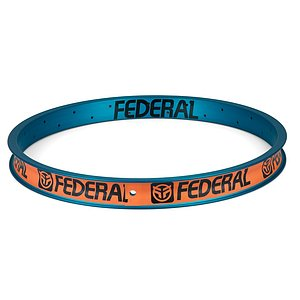 Federal STANCE XL Rim matt translucent teal 20'' 36H straight welded