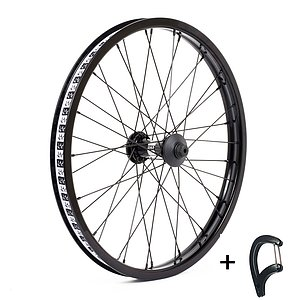 Cult CREW MATCH Front Wheel black straight 20'' 10mm