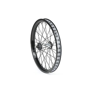 Cult CREW AERO 18 Front Wheel polished aero 18'' 10mm bolts Female Axle incl. Hubguards