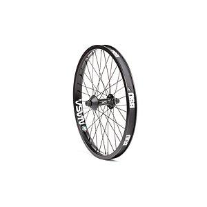 BSD MIND Front Wheel black 20'' 10mm bolts Female Axle incl. Hubguards