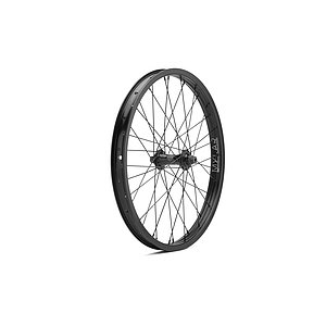 Mission RADAR Front Wheel black straight sleeved 20'' 36mm 10mm bolts Female Axle