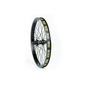 Total BMX TECHFIRE Rear Wheel black 20'' 34mm straight Regular Axle Cassette Hub LSD/RSD