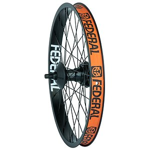 Federal MOTION FREECOASTER Rear Wheel black 20'' straight Regular Axle welded RSD incl. Hubguards
