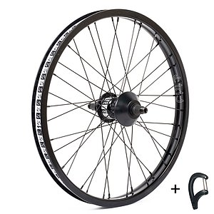 Cult CREW MATCH Freecoaster Wheel black 20'' straight Freecoaster Hub LSD