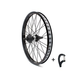 Cult CREW MATCH Cassette Wheel black 20'' straight Cassette Hub LSD/RSD