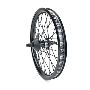 Cult CREW MATCH FREECOASTER 18 Rear Wheel black 18'' straight Regular Axle Freecoaster Hub LSD incl