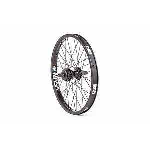 BSD AERO PRO/WEST COASTER Rear Wheel black 20'' 36mm straight Regular Axle Freecoaster Hub LSD incl.