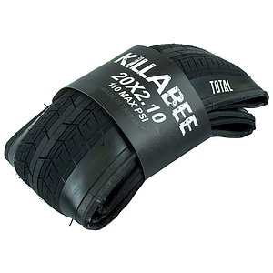 Total BMX KILLABEE Tire black 20''x2.1'' foldable